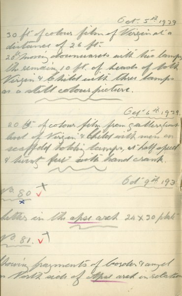 Author unknown: Notebook Entry for October 5 - 10, 1939