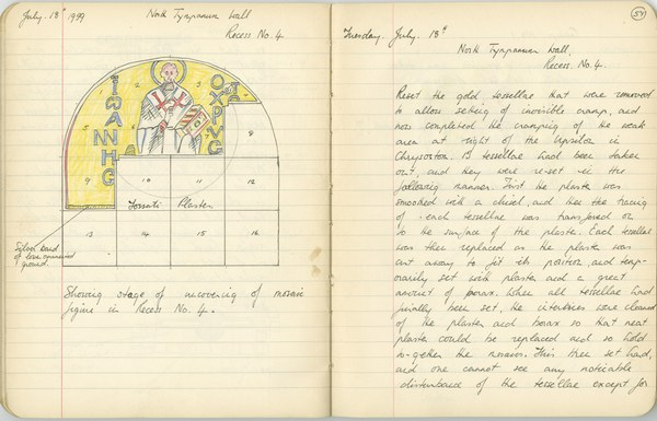 Richard A. Gregory: Notebook Entry for July 18, 1939