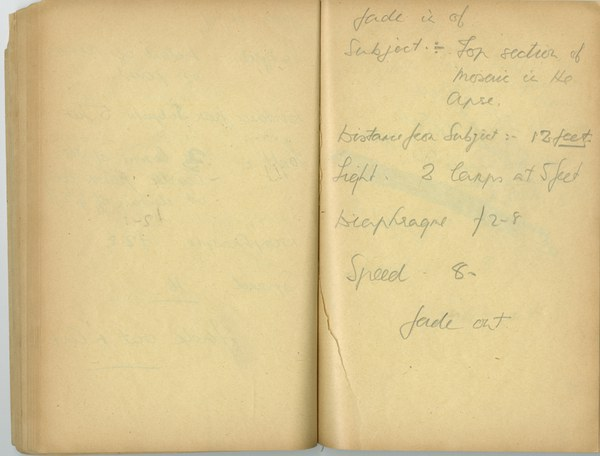 Richard A. Gregory: Notebook Entry for October 8 and 9, 1936