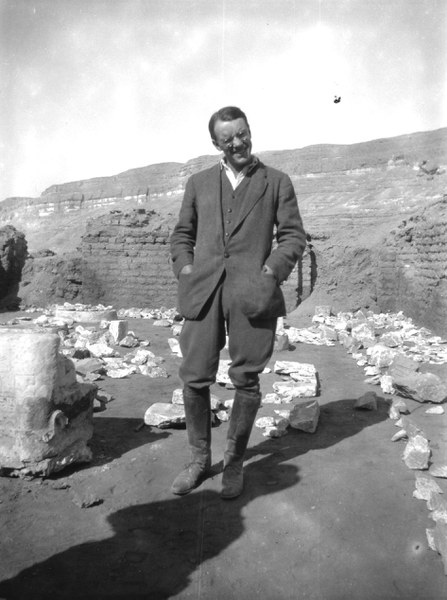 Stephen Ranulph Kingdon Glanville (1900–1956), EES excavator at Amarna from 1923 to 1924