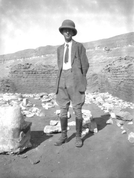 Walter Bryan Emery (1902-1971), EES excavator at Amarna from 1923-1927