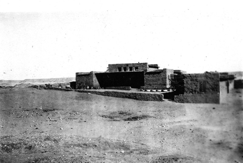 Southern expedition house, looking east