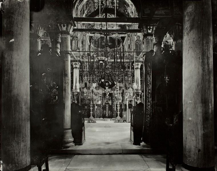 Katholikon, interior looking east