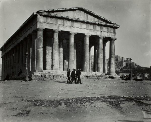 Temple of Hephaestus (Hephaisteion), western façade