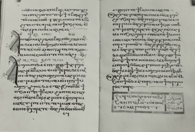 Coptic manuscript from the library