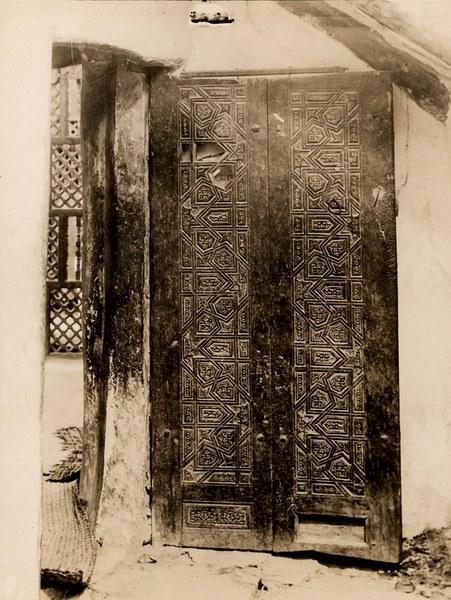 Door of unspecified church