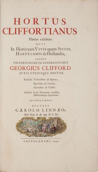 Linnaeus's Gardens: Hartekamp and Uppsala