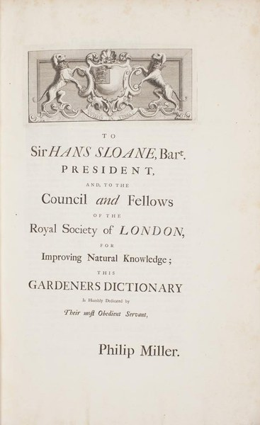 The gardeners dictionary