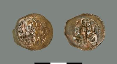 Aspron trachy of John I Komnenos-Doukas (1237-1242?)
