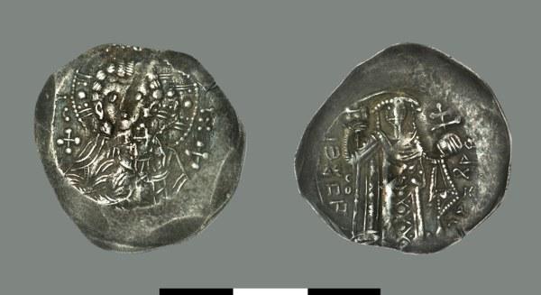 Aspron trachy of John III Vatatzes (1221-1254)
