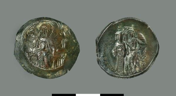 Aspron trachy of Manuel Komnenos-Doukas (1230-1237)