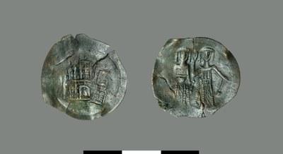 Aspron trachy of Michael II and John III Vatatzes (1246-1254)