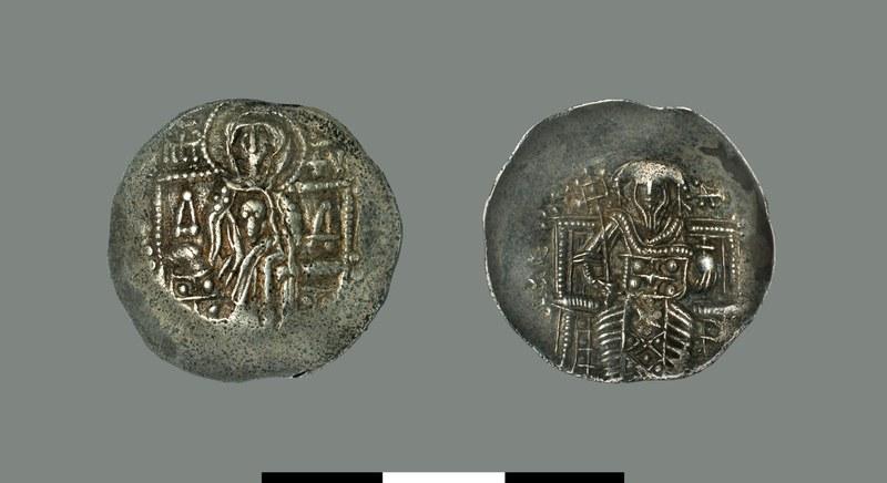 Aspron trachy of Theodore II Laskaris (1254-1258)