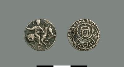 Half-stavraton of Manuel II Palaiologos (1391-1425)