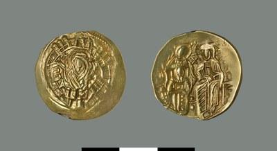 Hyperpyron of Michael VIII Palaiologos (1258-1282)