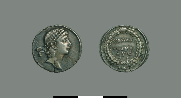 Silver coin of Constantine II (337-340)