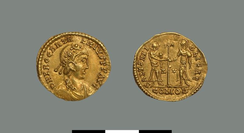 Solidus of Anthemios (467-472)