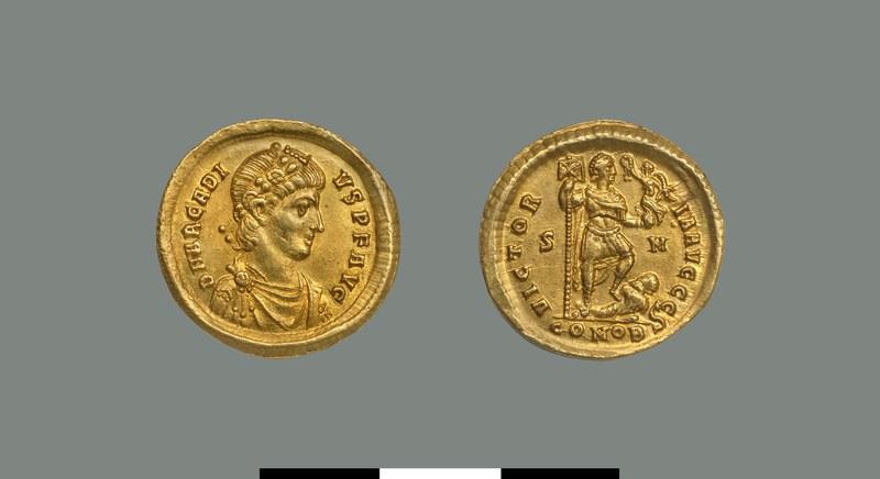 Solidus of Arcadios (383-408)