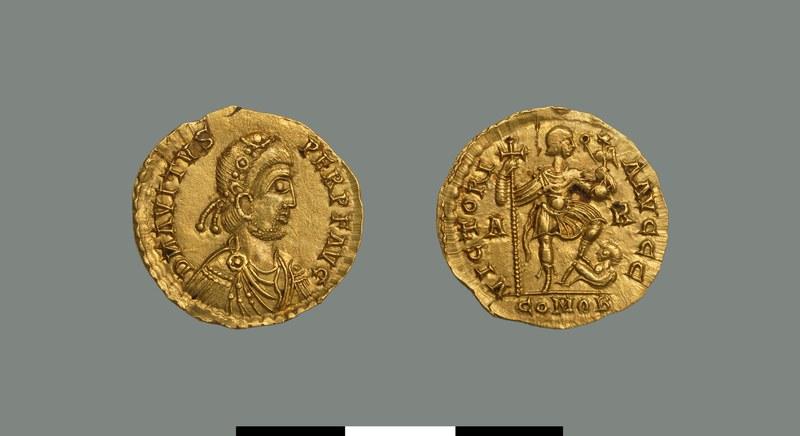 Solidus of Avitus (455-456)