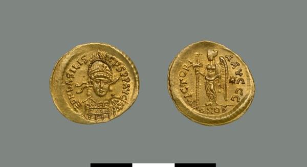 Solidus of Basiliskos (475-476)