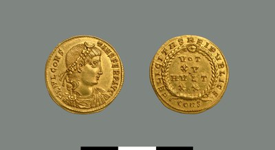 Solidus of Constans I (337-350)