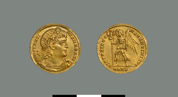Solidus of Constantine I the Great (306-337)