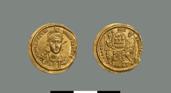 Solidus of Constantius II (333-361)
