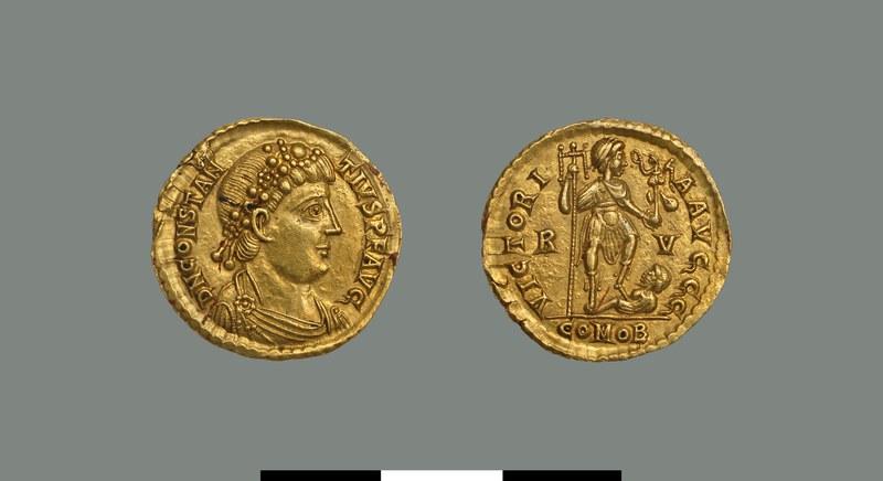 Solidus of Constantius III (421)
