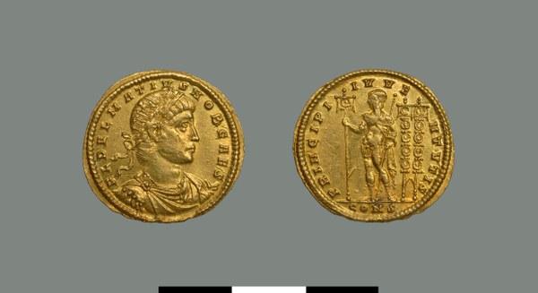 Solidus of Delmatius (337-357)