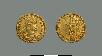 Solidus of Delmatius (337-357)