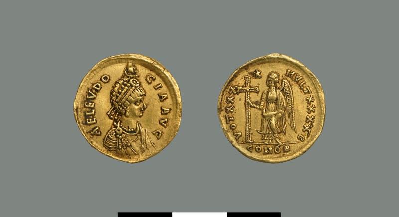 Solidus of Eudocia (423-460)