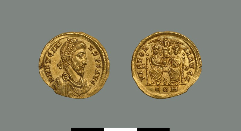 Solidus of Eugenius (393-394)