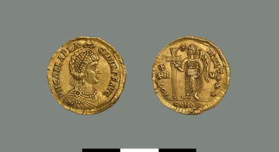 Solidus of Galla Placidia (421-450)