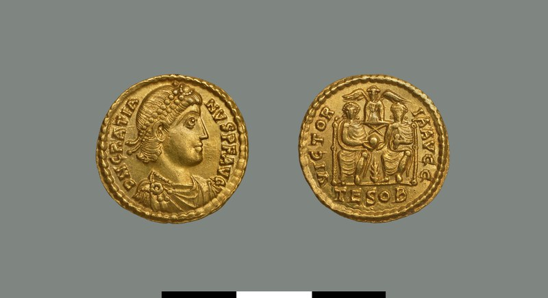 Solidus of Gratian (367-383)