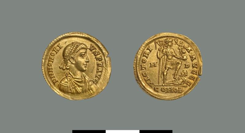 Solidus of Honorius (393-423)