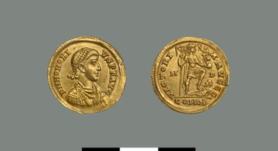 Solidus of Honorius (393-423)