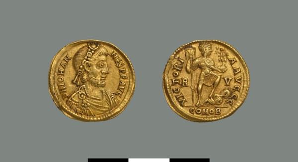 Solidus of Johannes (423-425)