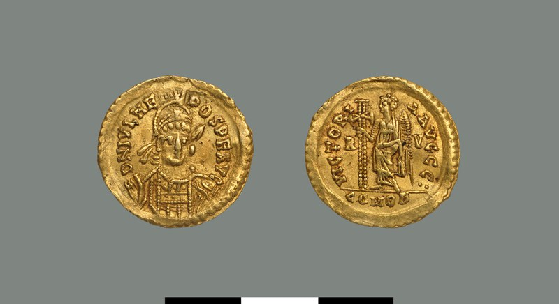 Solidus of Julius Nepos (474-475)
