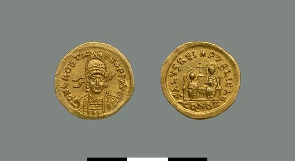 Solidus of Leo II and Zeno (474)