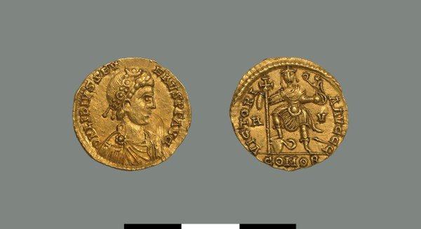 Solidus of Libius Severus (461-465)