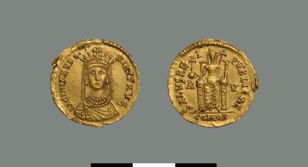 Solidus of Licinia Eudoxia (439-?)