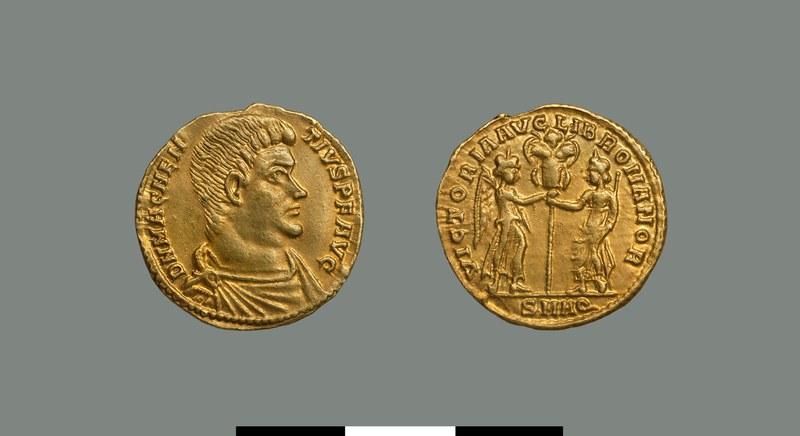 Solidus of Magnentius (350-353)
