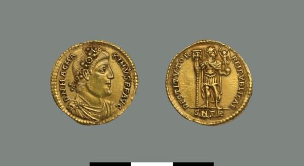 Solidus of Magnus Maximus (383-388)
