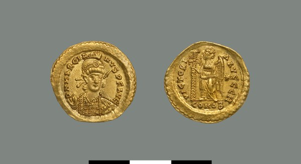 Solidus of Marcian (450-457)