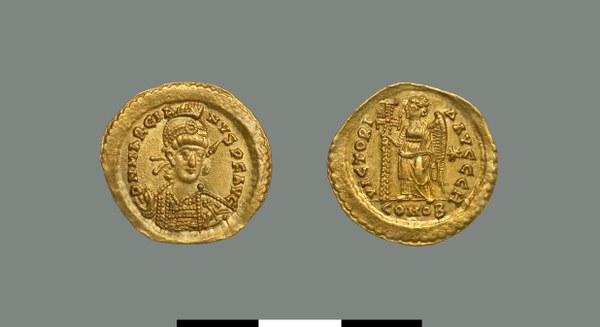 Solidus of Marcian (450-457)