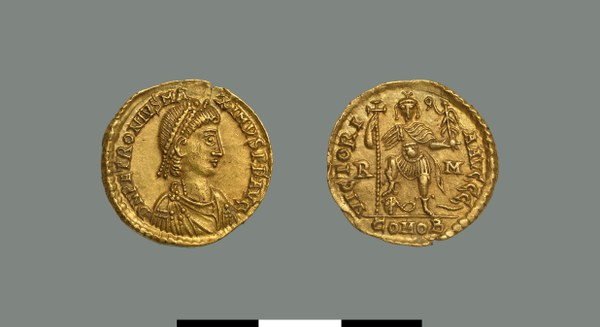 Solidus of Petronius Maximus (455)