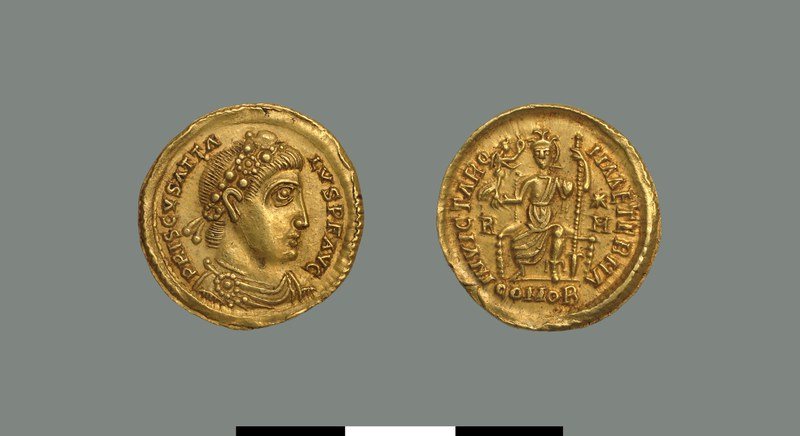 Solidus of Priscus Attalus (409-416)