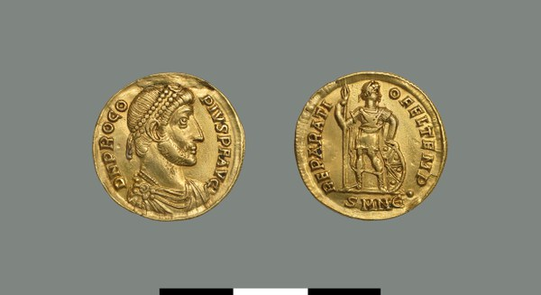 Solidus of Procopius (365-366)