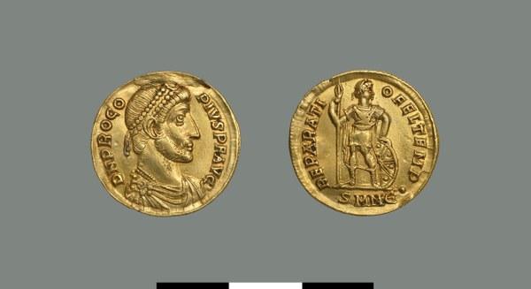 Solidus of Procopius (365-366)