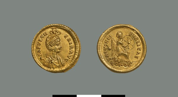 Solidus of Pulcheria (414-453)